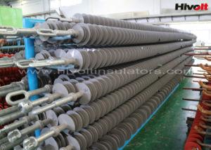 Varilla larga aisladores Composite de la línea de transmisión y distribución
