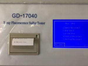 液体の石油のためのX線の蛍光性の硫黄分のメートル