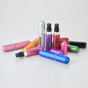 Colorido fino aluminio Mist Pulverizador de perfume rellenar atomizador de viajes