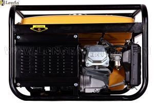 5 КВА одна фаза 5 квт мощности с низким уровнем шума бензиновый генератор
