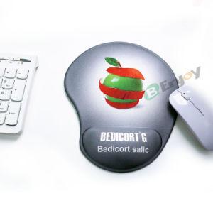 Impresso personalizado Mouse pad Gel Non-Slip ergonómica