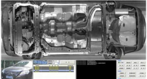 Mobiele UVIS onder het Systeem van de Inspectie van het Voertuig voor Gevangenis Ertry UVSS (VEILIGE hallo-TEC SA3000)
