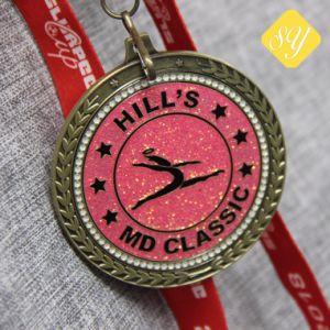 卸し売り高品質のTaekwondoの柔らかいエナメルの記念品はメダルを遊ばす