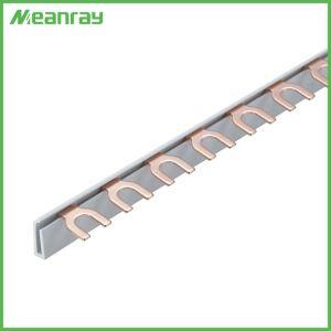 Busbar van het Spoor van het Type DIN van Vork van de Verkoop MCB van China Hete