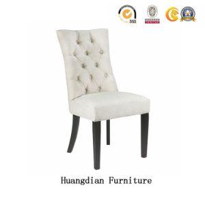 Es un hotel sencillo juego de muebles de cuero de PU Restaurante de proveedor o tejido Silla de Comedor (HD1110)