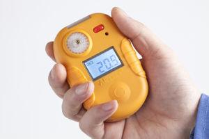 電池式の携帯用単一HClのガス探知器