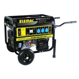 Electric Starterの4kw Square Tube Line Gasoline Generator