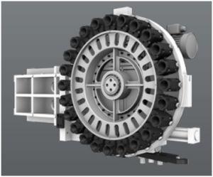 Centro di macchina verticale ad alto livello più popolare di CNC 2018, fresatrice di CNC (EV850L)