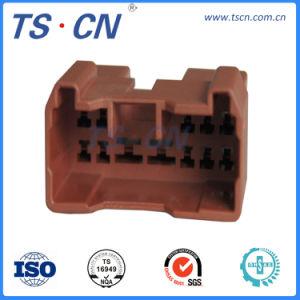 12 штифты пластмассовые Auto электрический провод вилочную часть разъема жгута проводов