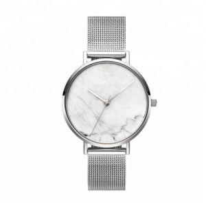 O Japão Relógios de quartzo Movt Moldura traseira de aço inoxidável Assista a marca de relógio de quartzo 2018