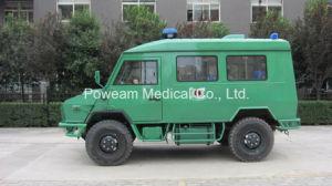 Iveco 4WD с правосторонним рулевым управлением окно Тип аварийного спасения (6 машин скорой помощи DFS6402JN)