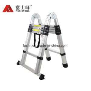 En131 3.8m многофункциональный алюминиевый удлинитель Складная лестница с двойным используется стороны