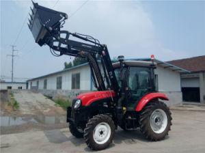 4 en 1 tracteur agricole de godet excavateur de chargeur avant