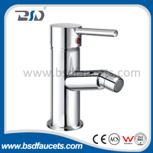 Wand Mount Bath Shower Faucet mit Chrome Finish Single Handle