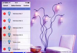 Neuer GU10 WiFi RGBW LED Scheinwerfer der Licht-Arbeits-LED mit Alexa Echo Google Hauptunterstützung Ifttt Unterstützungs-APP-Sprachtimer-Steuerhauptautomatisierungs-Lampe