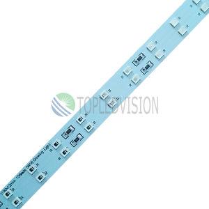 Alto indicatore luminoso di striscia rigido di luminosità 24-28lm/LED SMD2835 LED 120LEDs/M