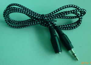 3.5mm Mann zum 3.5mm Weibchen-Extensions-Kabel