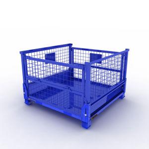 تخزين قابل للتراكم قابل للانهيار [وير مش] وعاء صندوق من