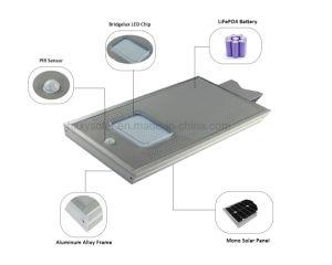 IP65 Novo Design tudo-em-um LED Solar Luz Rua 12W