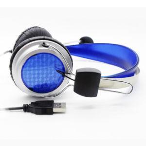 마이크를 가진 싼 USB 휴대용 퍼스널 컴퓨터 또는 2 바탕 화면 또는 컴퓨터 휴대용 헤드폰