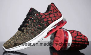 Nueva moda Zapatillas deportivas con Flyknit Gel superior y el hombre calzado para correr (377)
