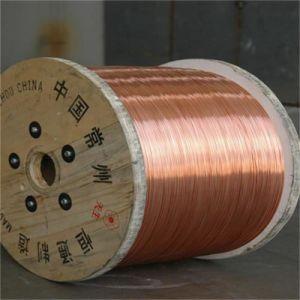 Cabo coaxial de arame de aço revestido de cobre do CCS