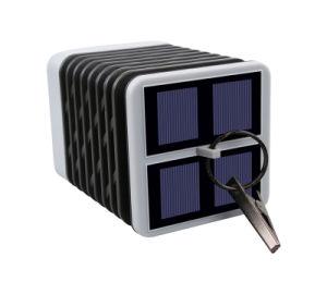 La energía solar linterna LED lámpara de luz de velas patio jardín de luz impermeable al aire libre
