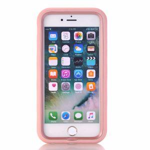 Funda de silicona de moda soporte móvil Volver Funda para iPhone6