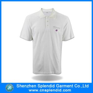 Camicia di polo classica del piquè del nuovo di disegno di modo poliestere di Coton