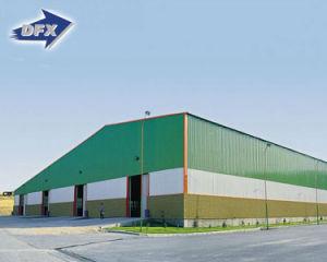 El bastidor de la luz de los edificios prefabricados diseñados Peb Almacén de la estructura de acero