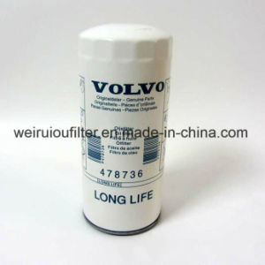 Cartucho do Filtro de Óleo Volvo conjunto gerador 478736 do Filtro de Combustível