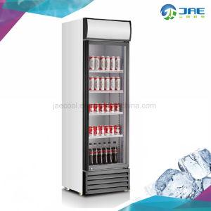 430L Ventilador vertical Refrigerador de mostrador de exposición de una sola puerta