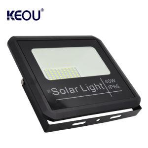 最もよい品質の屋外の防水再充電可能な20 40 60 100ワット40Wの長距離の太陽センサーの洪水ライト