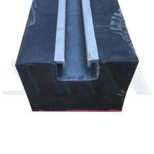 Neuer schützender Gummiförderband-Auswirkung-Stab mit guter Leistung