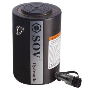 Cilindro idraulico di alto tonnellaggio a semplice effetto (SOV-CLSG)