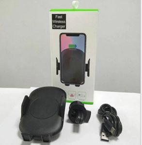 Infrarot, das schnell intelligente Handy-Fahrzeug-drahtlose Aufladeeinheit mit Halter erfasst