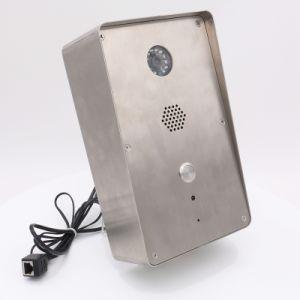 緊急の通話装置の可聴周波ビデオアクセス制御ドアの電話