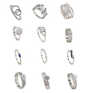 Nuova signora Jewelry Customized Silver Ring (KR3162) di disegno