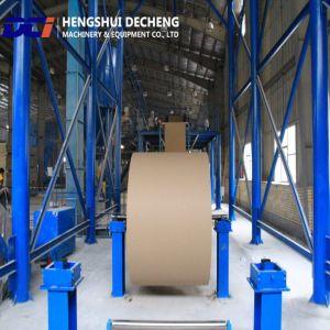フルオートマチックのペーパーはプラスター石膏ボードの生産ラインに直面した