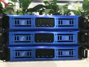 4*800W 4 canais 2u amplificador de potência profissional