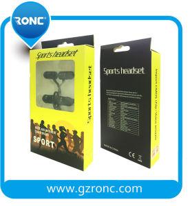 자석 이어폰 니스 저음 및 소매 포장을%s 가진 최고 질 Bluetooth 이어폰