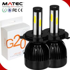 G20 LEDの自動球根ヘッド軽いランプのヘッドライト80W 8000lm H4 H7 H11 9005 9006 H1 H3 880の霧ランプ