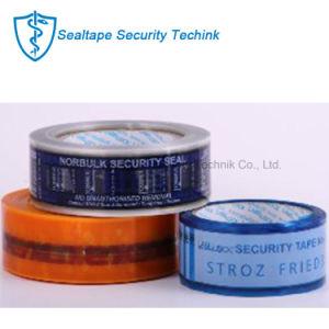 La conception personnalisée du ruban adhésif / preuve d'autosurveillance Precutting Bande de sécurité