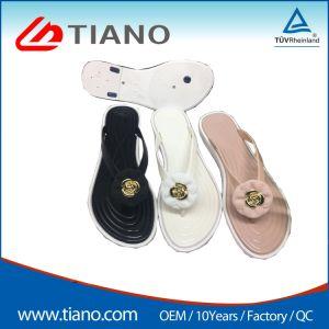 Fashion Lady sandale avec semelle extérieure en PVC Femmes Slipper