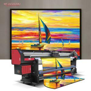 Il fornitore produce la stampante di getto di inchiostro UV a base piatta di ampio formato della stampante