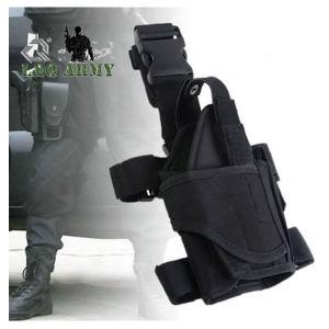 Pistola de pistola ajustável táctico da perna de queda da Bolsa estojo