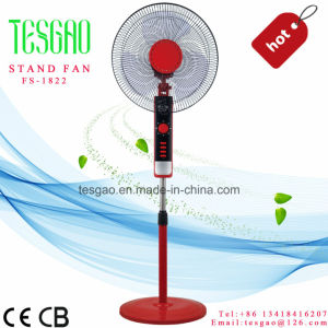 Moda Styly novo pedestal eléctrico eléctrica forro plástico suporte permanente USB Ventilador (FS-1822)