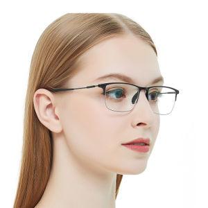 De hete Frames van de Oogglazen van de Acetaat van de Verkoop Rechthoekige Optische voor Vrouwen en Mannen