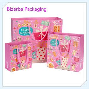Palanca de promoción del papel de regalo Bolsa de compras/bolsa de embalaje