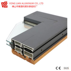 Profil d'Extrusion aluminium de haute qualité pour rupture thermique châssis Windows
